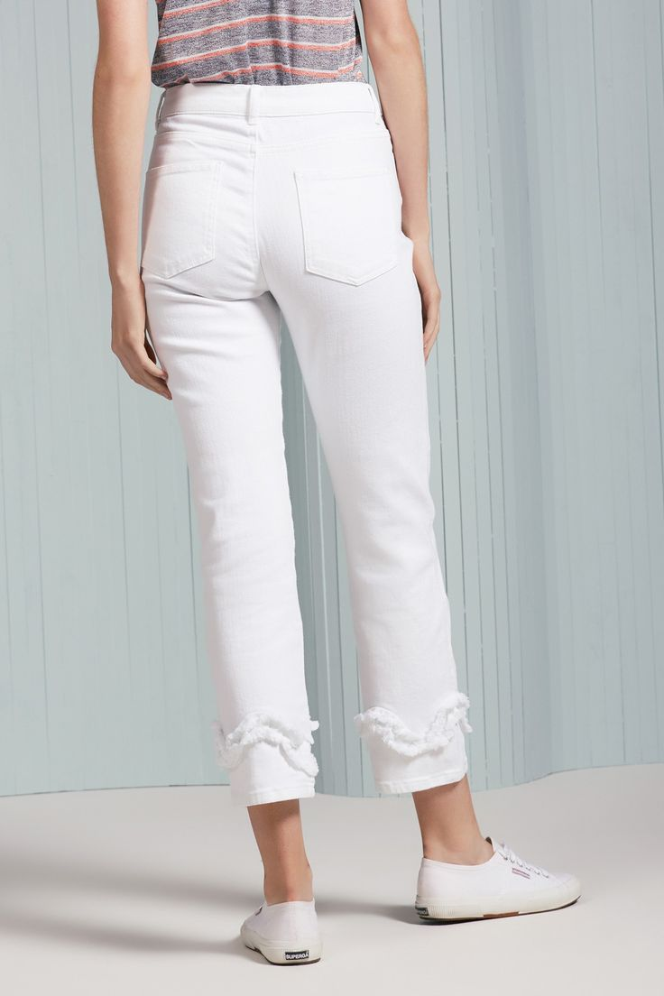 SYMPHONY JEAN white | THE FIFTH | BNKR