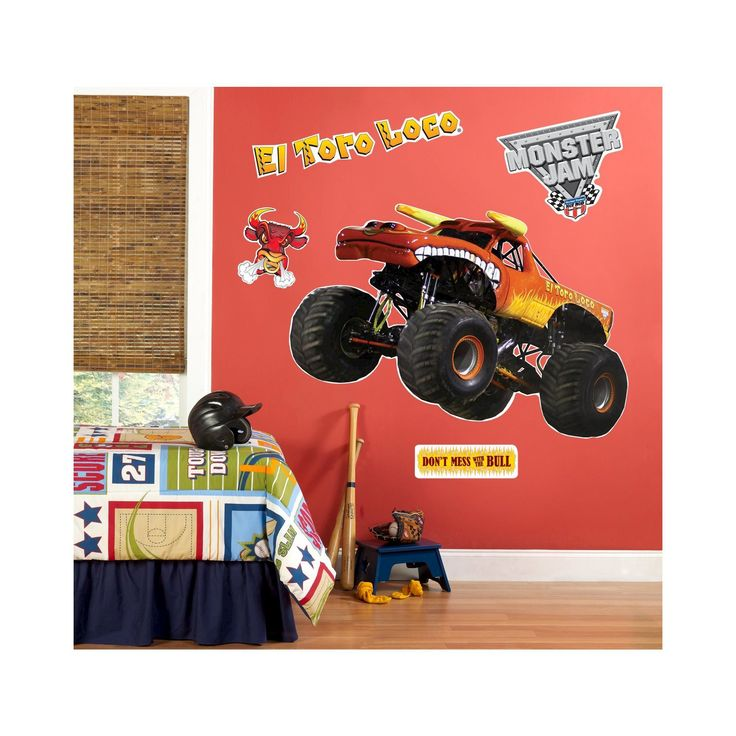 Monster Jam El Toro Loco Giant Wall Decals