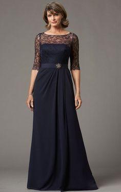 A-line Bateau Chiffon Empire Zipper Bridesmaid Dresses_1