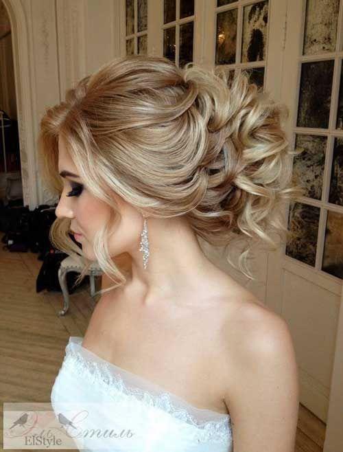 Schöne Hochzeit Frisuren für langes Haar  #frisuren #hochzeit #langes #schone On #upstyle #hairstyle #bridesmaids #bridesmaid #lowbun