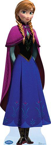 Anna - Disney Frozen Lifesize Cardboard Cutout