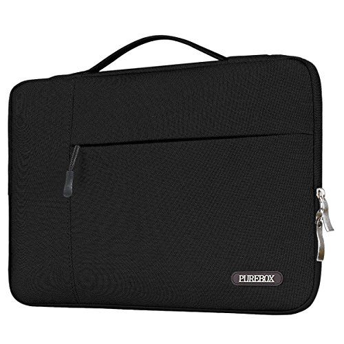 PUREBOX+Laptop+Sleeve/Briefcase,+Black+/+Light+Grey