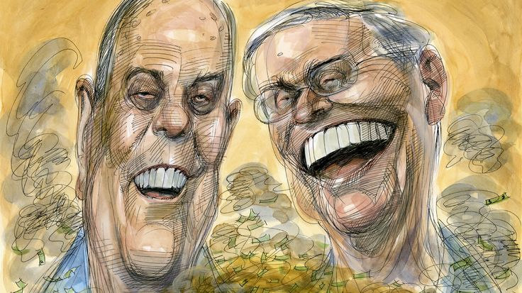 Together, Charles and David Koch control one of the world's largest fortunes, which they are using to buy up our political system.