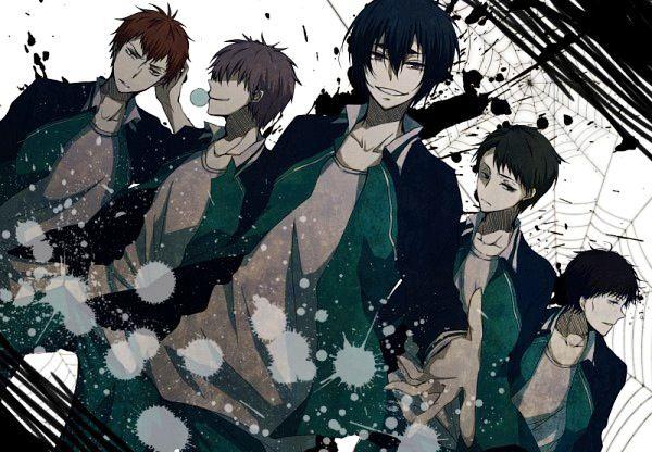 Kuroko no Basket (黒子のバスケ) - Kirisaki Daiichi High (霧崎第一高校) - For some reason, I love them.