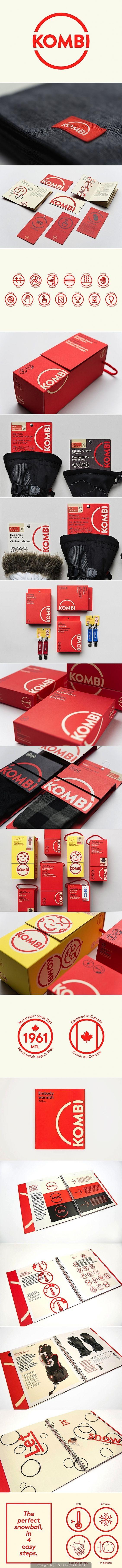 Kombi Branding on Behance   Fivestar Branding – Design and Branding Agency & Inspiration Gallery