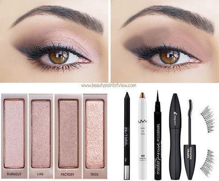 One palette, 3 Unique Looks all using Urban Decay's Naked 3. Click link for all 3 look tutorials. #bellashoot #makeup #beauty