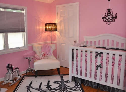 Wall Decals, Pink Nurseries, Colors Theme, Baby Ideas, Baby Girls Room, Baby Room, Girls Nurseries, Nurseries Ideas, Baby Stuff