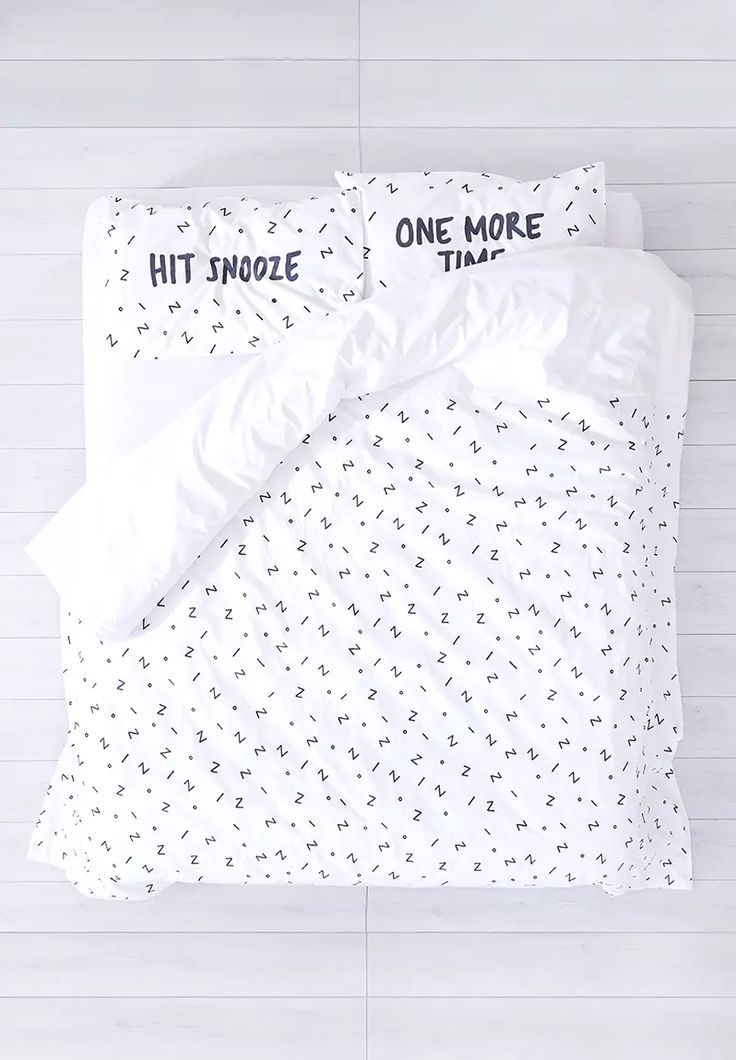 Snooze Duvet Cover