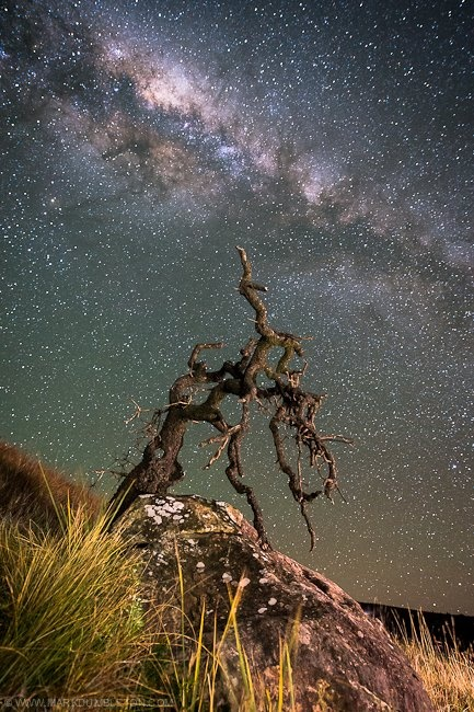 Milky Way from Drakensburg Mountain region of South Africa.