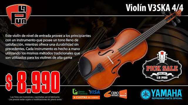 La Púa San Miguel: Violín YAMAHA V3SKA 4/4