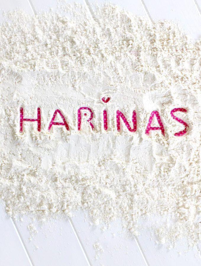 Tipos de harina, que son y para que sirven. Aprende a diferenciar la harina de fuerza, la harina floja y la harina de trigo. Por Lolita la pastelera