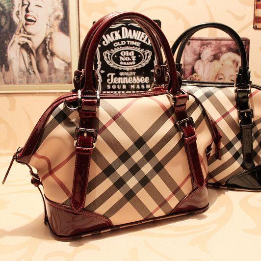 noble plaid bolsos de marca de los diseñadores de moda de la mujer ol bolso elegante bolso de mano formal