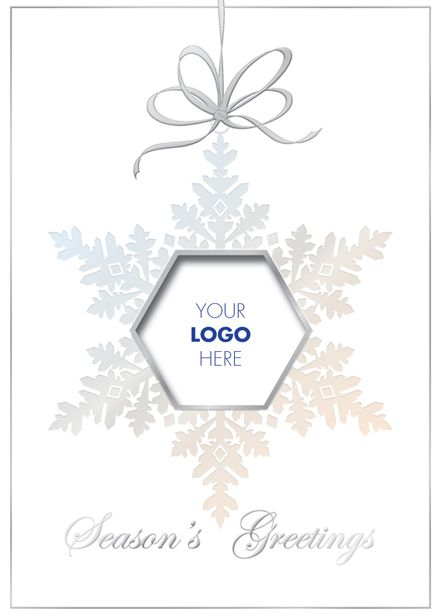 156 best christmasholiday cards for business and personal use personalized christmas holiday cards snowflake logo ornament faster graphics reheart Choice Image