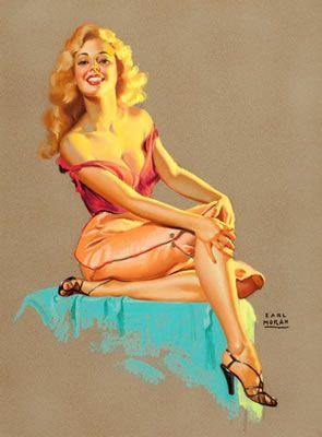 Marilyn - Earl Moran