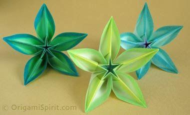 Origami és quilling: Origami Carambola