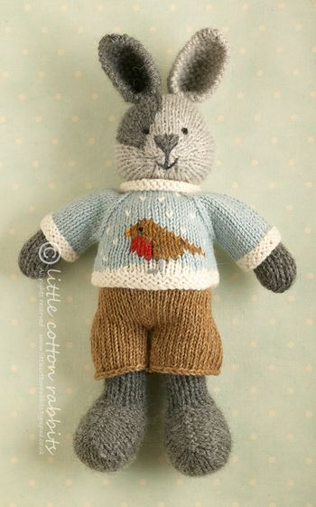 Robin.  Bunny toy available on etsy.
