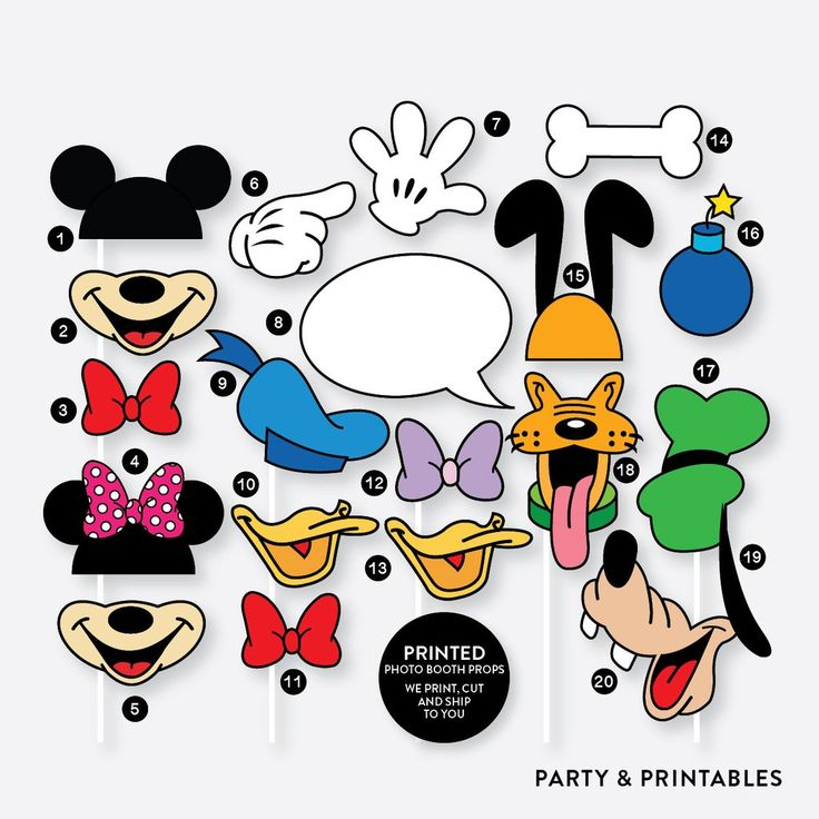 mickey photo booth props, disney photo booth props, minnie photo booth props #photoboothprops #mickey #disney