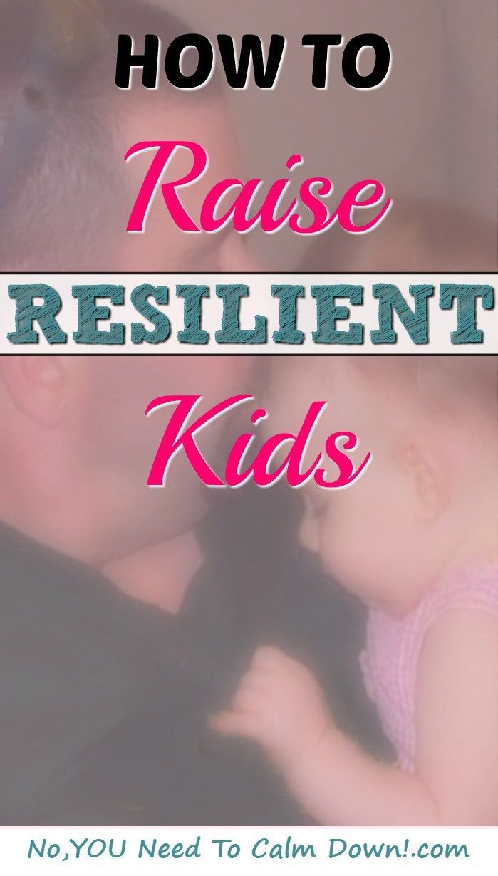 Can you raise kids to be more resilient? With foundational scars, they won't be in shock the first time they are told no as an adult. They will have a greater chance of bouncing back.