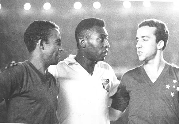 Duelos de Craques do Futebol: DIRCEU LOPES, TOSTÃO & PELÉ