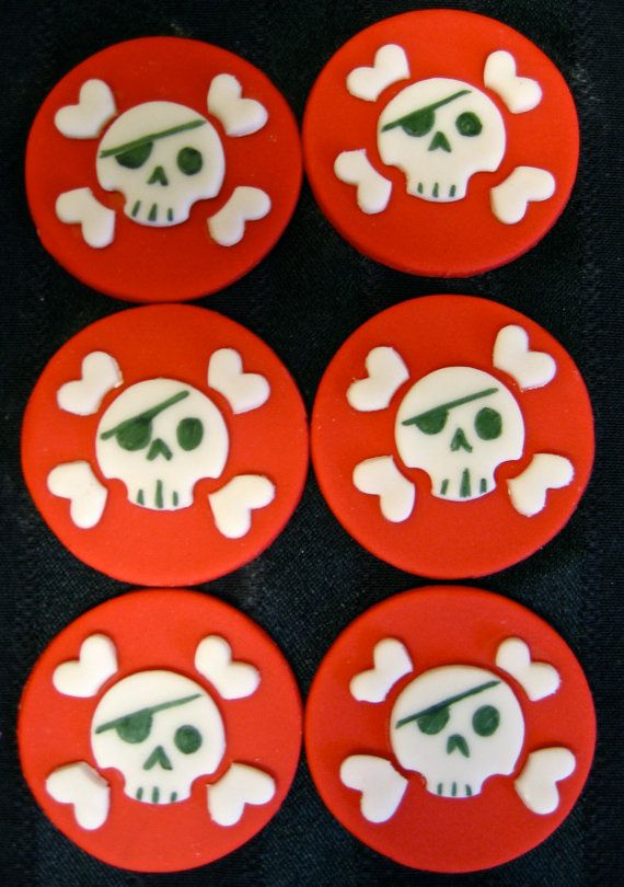 pirate cupcake toppers