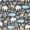 Michael Miller Baby Zoology Sea - for swaddle blanket