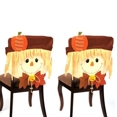 Scarecrow Boy Chair Covers, Set of 2 | Kirklands