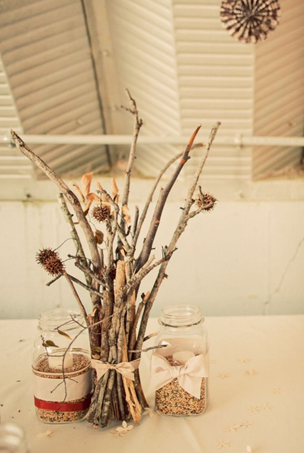 17 best ideas about twig centerpieces on pinterest fall