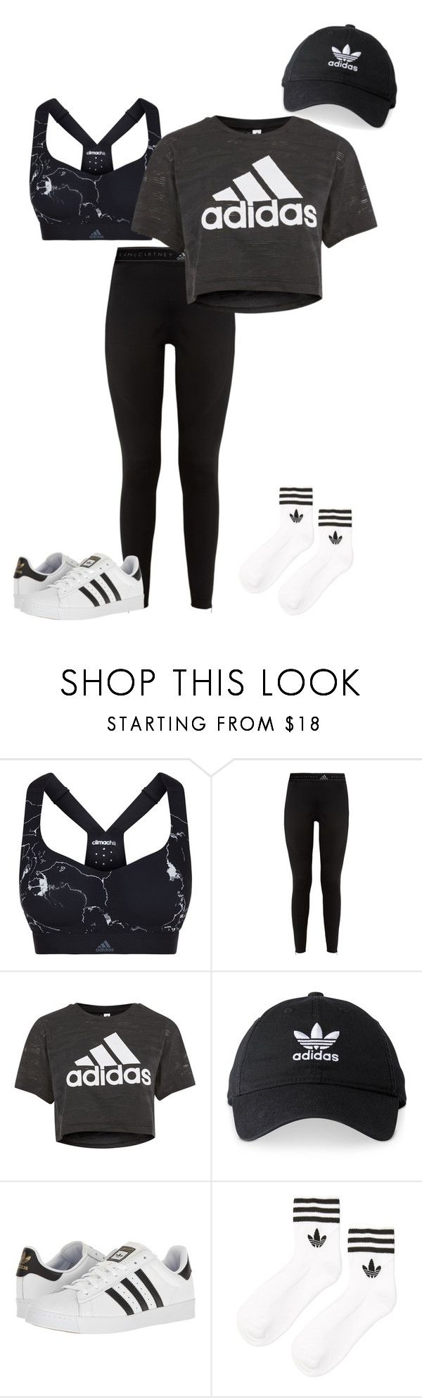 """""""Untitled #575"""" by clairebears4150 ❤ liked on Polyvore featuring adidas"""