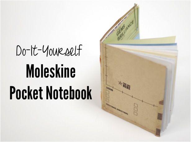 diy pocket notebook