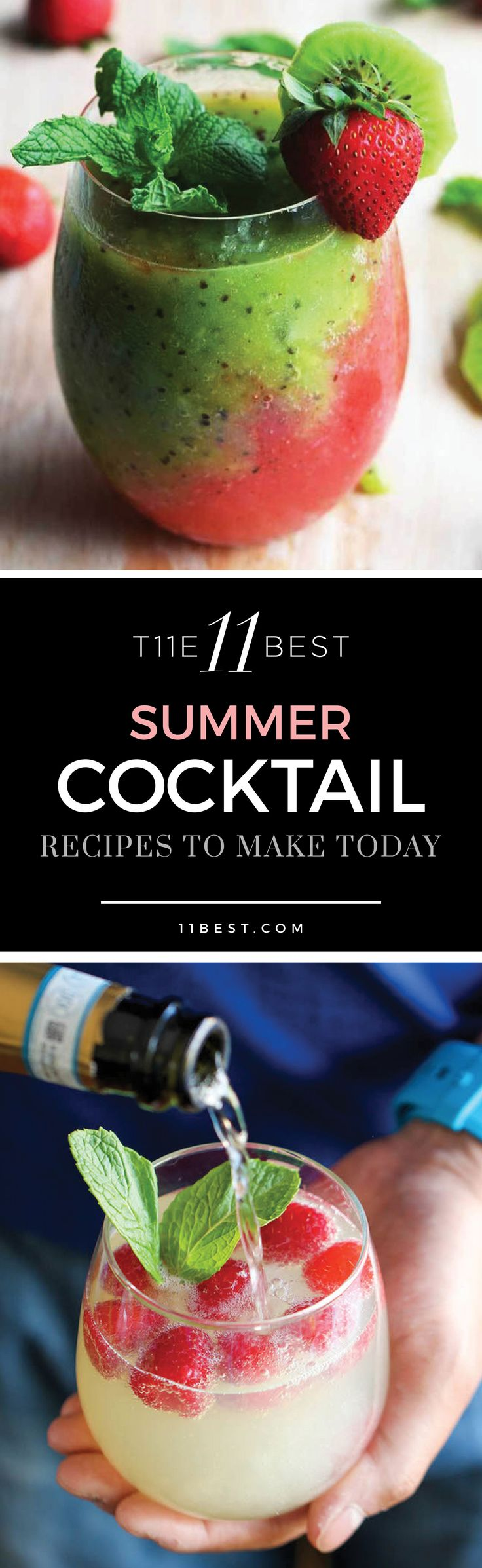 The 11 Best Summer Cocktails! I want to try them all!!