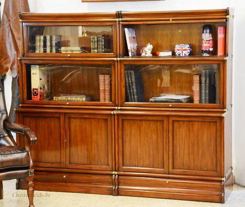 Bücherschränke im Baukstensystem: Globe Wernicke Bookcases