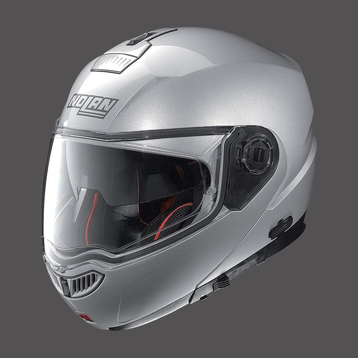 Casco Moto NOLAN N104 ABSOLUTE PLATINUM SILVER