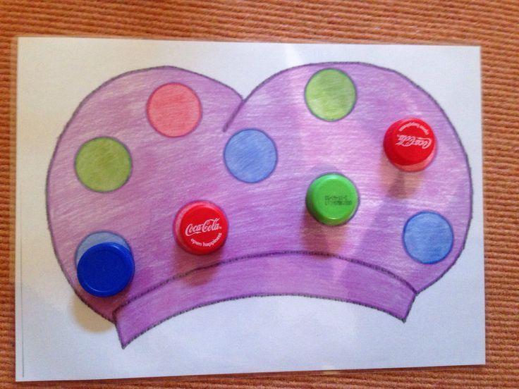 Doppentekening voor jonge kleuters Met dank aan Kimberly V.V.: