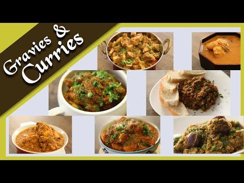Gravies & Curries - Popular Indian Main Course Recipes by Archana - Easy...