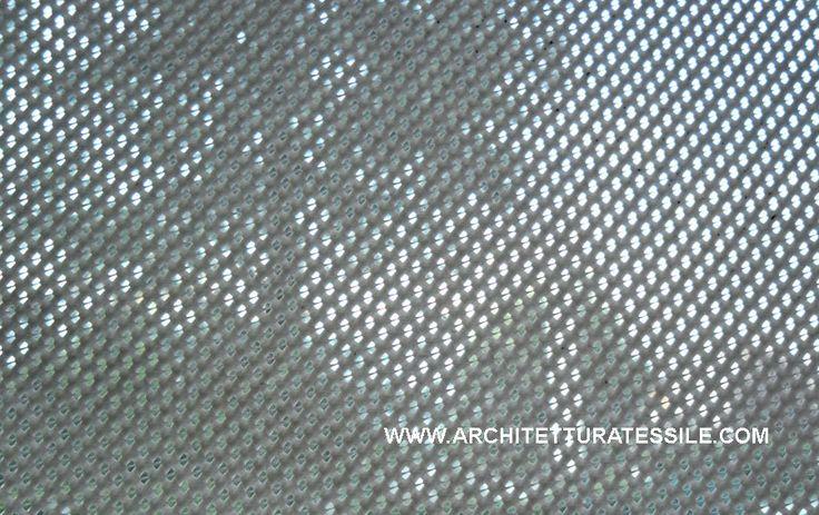 tessuti tecnici innovativi,Tessuti stampabili microforati tessuti stampabili, tessuti da stampa, reti mesh,tessuti per architettura tessile, tessuti antifiamma per allestimenti, permeabilita' all'aria, progetto di architettura tessile, [TESSUTO MESH CO250 ADR] - 4.50EUR : Architettura Tessile, sistemi tessili per l'architettura