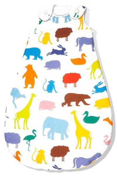 PINOLINO Winterschlafsack Happy Zoo ➤ Jetzt online kaufen | Kindertraum.ch