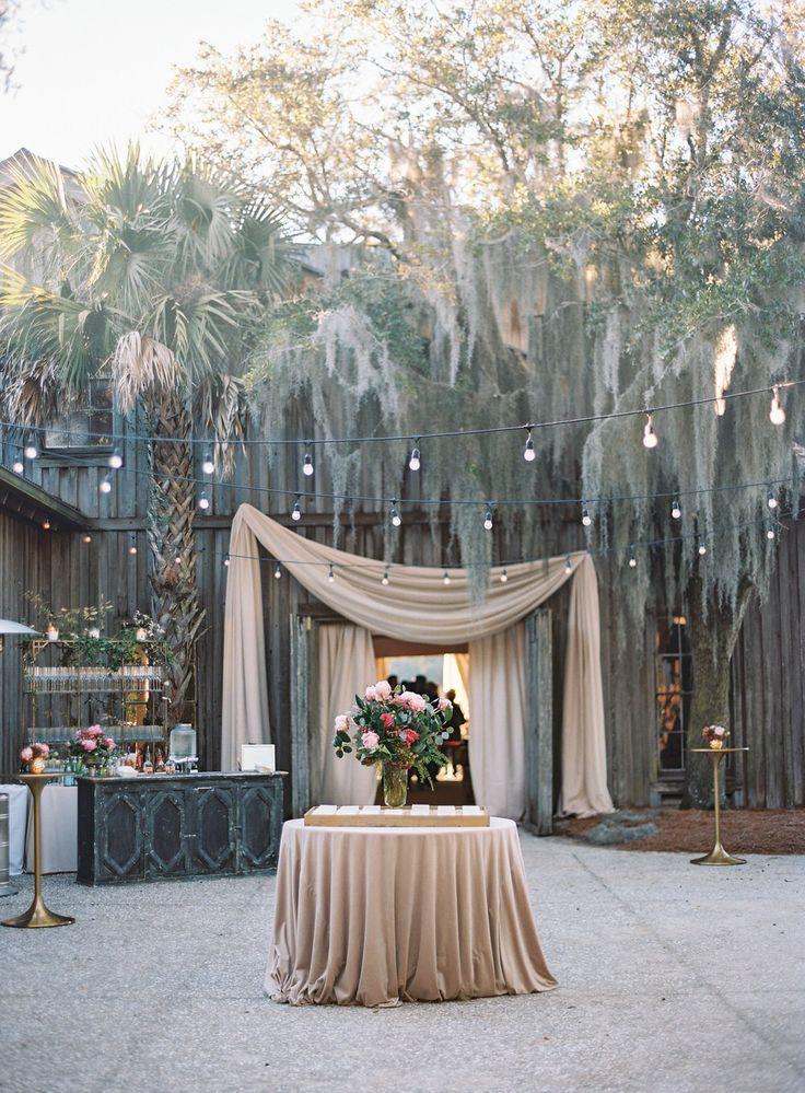 Luxe Charleston Wedding at Boone Hall
