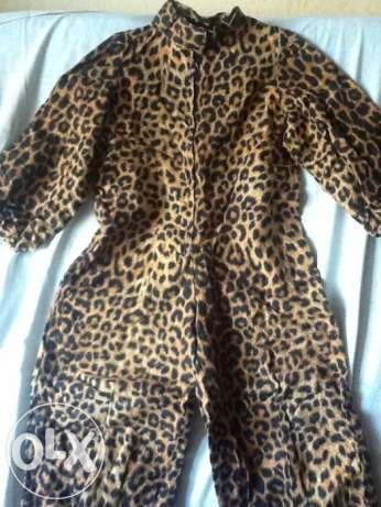 Костюм леопарда гепарда