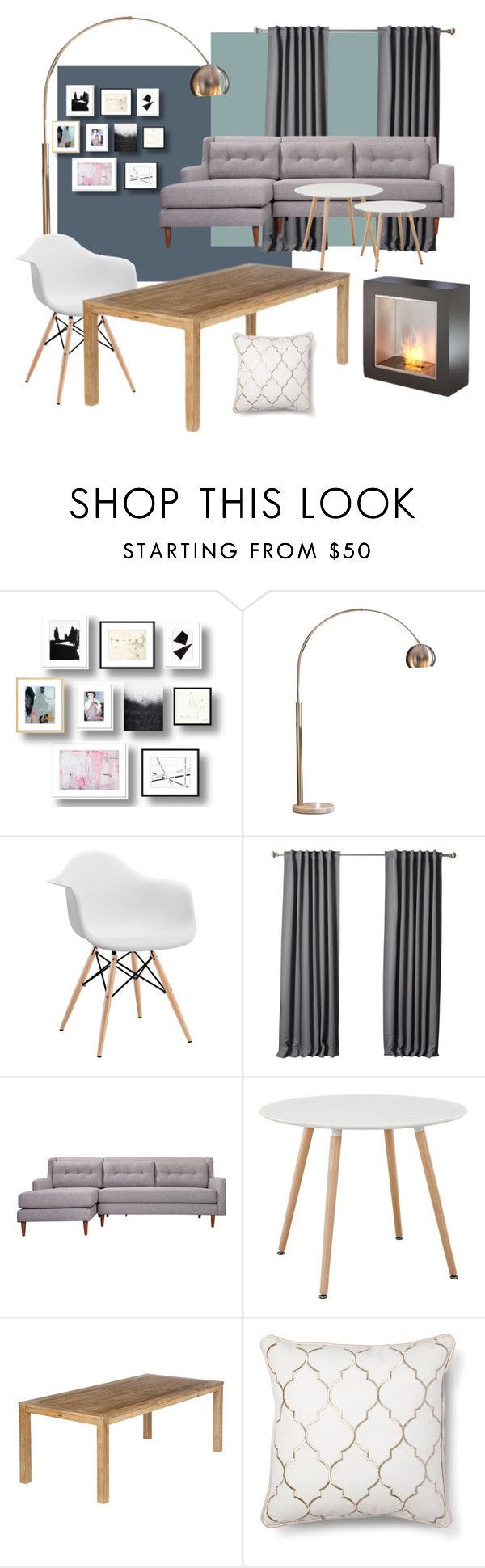 """set2"" by malgosia-1990 on Polyvore featuring interior, interiors, interior design, dom, home decor, interior decorating, Ink & Ivy, Volo Design, Barlow Tyrie i Frontgate"