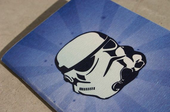 Star Wars  journal stormtrooper journal. The Empire by GuBoArtBook