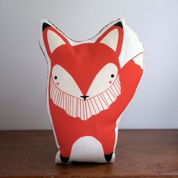 #pillow: Animal Baby, Nurseries, Baby Gifts, Baby Toys, Foxes Pillows, Redfox, Baby Foxes, Red Foxes, Orange Foxes