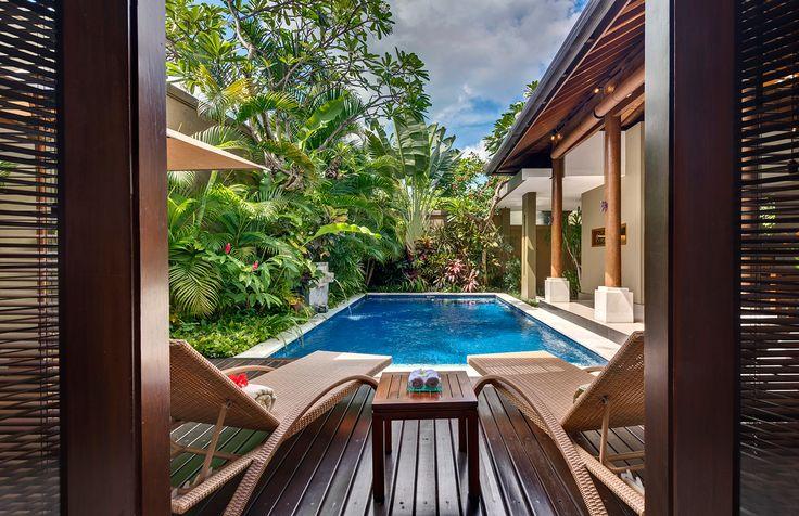 Poolside at Villa Solo