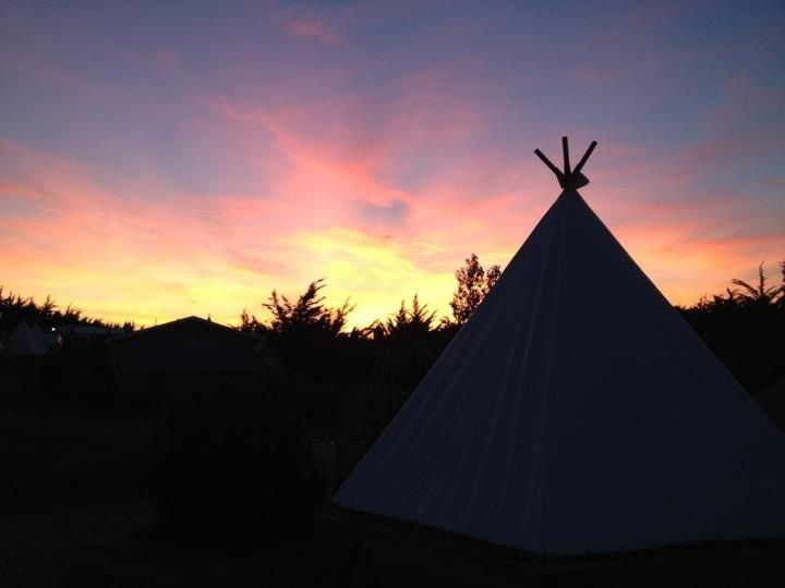17 best images about glamping noirmoutier on pinterest indigo luxury campi - Camping noirmoutier tipi ...