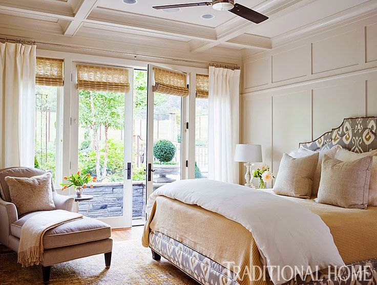 I have a soft spot for ranch style home and this sprawling abode in Pleasanton, California is fantastic! Homeowners, Cheryl and Danny Hansford, worked with designer and Maison Luxe owner, Kelie Grosso, to give their home new life. Kelie chose a color palette of camel, black and white for the home and every room is a wonderful blend of those colors and accent pieces. LOVE!(all photos from Traditional Home) HighFashionHome.com…Continue readingRanch Style in California