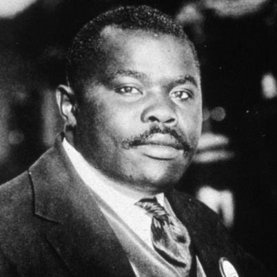 Marcus Garvey - Born August 17, 1887 in St. Ann's Bay, Jamaica. Civil rights activist!