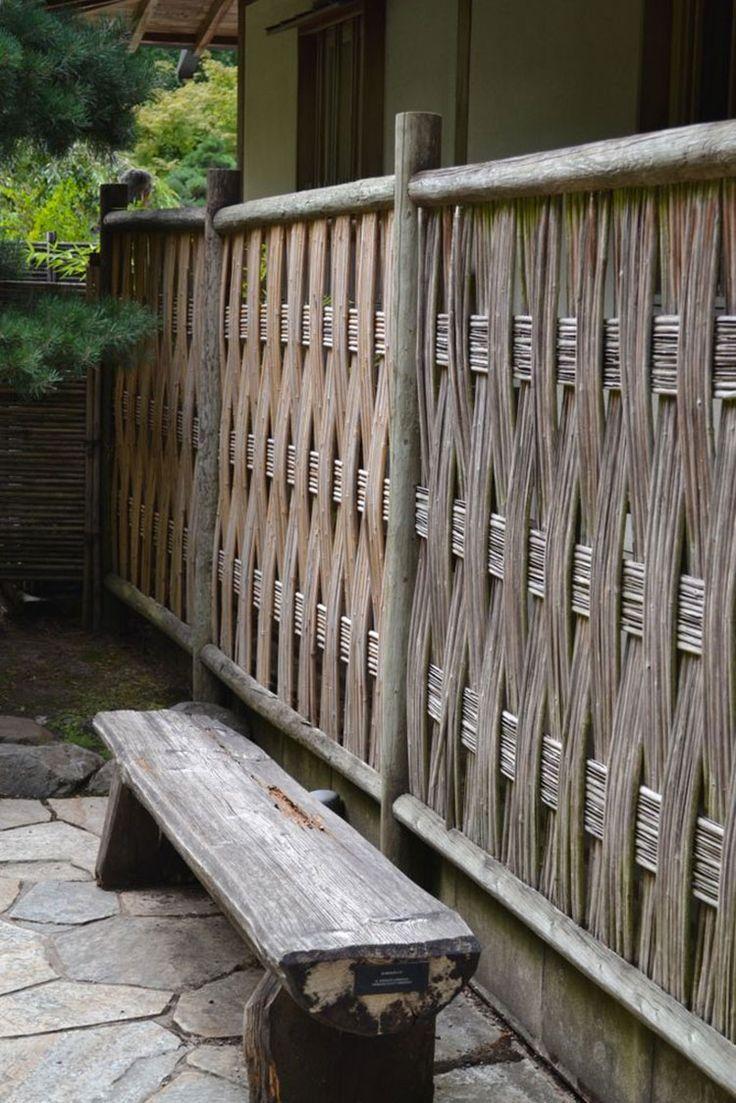 Recinzione in bambù 13