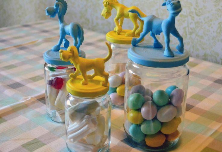 Barattoli animalier per una Pasqua zuccherosa