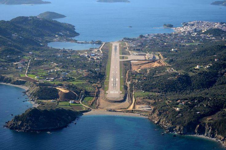 Aeroporto Skiathos : N g  airport