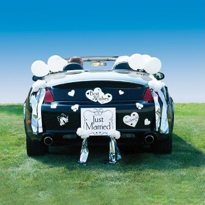 49 best wedding car decorations images on pinterest wedding cars wedding car decorating kit wedding car decorations junglespirit Image collections