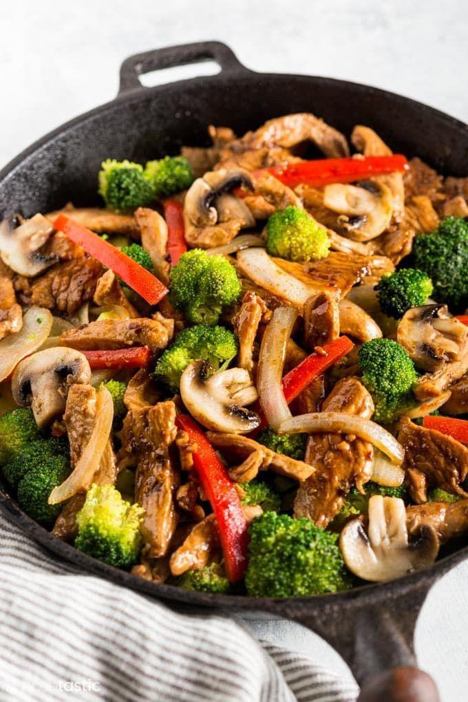 Keto Chicken Stir Fry Rezept Schnell Lecker Sie Werden Dieses Low Carb Lieben Einfache Rezepte Stir Fry Recipes Chicken Low Carb Chicken Healthy Low Carb Recipes